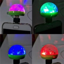 CARPRIE USB Mini LED RGB Disco Stage Light Party Club DJ KTV Xmas Magic Phone Ball Lamp