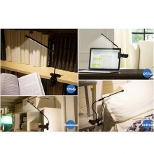 Adjustable USB LED Touch Dimmable Flexible Solid Clip Desk Lamp FW1S