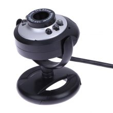 0.5 Mega Pixels 50M 6 LED USB Webcam Camera with Mic for PC Laptop Computer