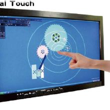Free Shipping! Xintai Touch 65″ multi IR touch screen overlay 10 points Infrared touch panel frame, driver free, plug and play