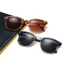 Sun Glasses Male Female L rayed Small Size Hot Half Frame women Men sunglasses Brand designer Classic UV400 Mirror Lady
