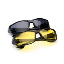 2018 new night vision glasses, men and women general design UV400 enhanced  film double protective film night vision