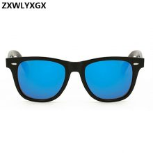 ZXWLYXGX New Fashion Unisex Vintage Lens Sunglasses mens Women Brand Designer Rivets Design Retro Sun glasses gafas oculos