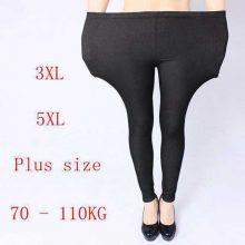 Black & Blue Plus size women jeans pants Heavy lady Fashion immitation Denim pant Elastic large pencil leggings Long trousers