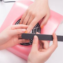 Electric Apparatus for Manicure Nail Dust Collector Nail Vaccuum Cleaner Suction Fan Kit