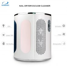 3 In 1 Strong Power 54W Nail Fan Art Salon Suction Dust Collector Vacuum Cleaner Nail Dust Collector + UV LED Nail Dryer Lamp