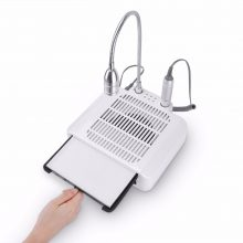 35000rpm Electric Manicure Drill Machine 3 in 1  Nail Dust Collector Suction + Manicure Drill + Desk Lamp With Accessories