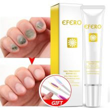 EFERO Nail Repair Essence Serum Remedy Nail Fungus Treatment Remove Onychomycosis Whitening Toe Nails Hand Foot Skin Care 20g