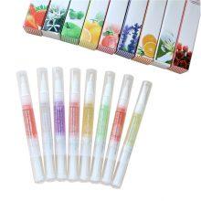 Bittb Fruit Flavour Cuticle Revitalizer Oil Nail Care Soften Moisturizing Moist Nail Treatment Nutrition Pen Nail Nutrition Oil