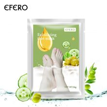 EFERO 1pack Whitening Baby Feet Mask Exfoliating Foot Peeling Mask Moisturizing Foot Cream For Cracked Heels Spa Socks Pedicure