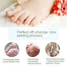 efero 2piece=1pack Baby Feet Pedicure Socks Exfoliating Foot Mask Peeling Skin Care Foot Cream for the Heels Cracks Whitening